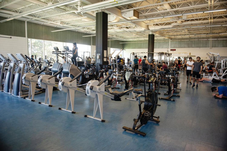 Physical Activities Complex (photo courtesy of University of Waterloo Athletics)