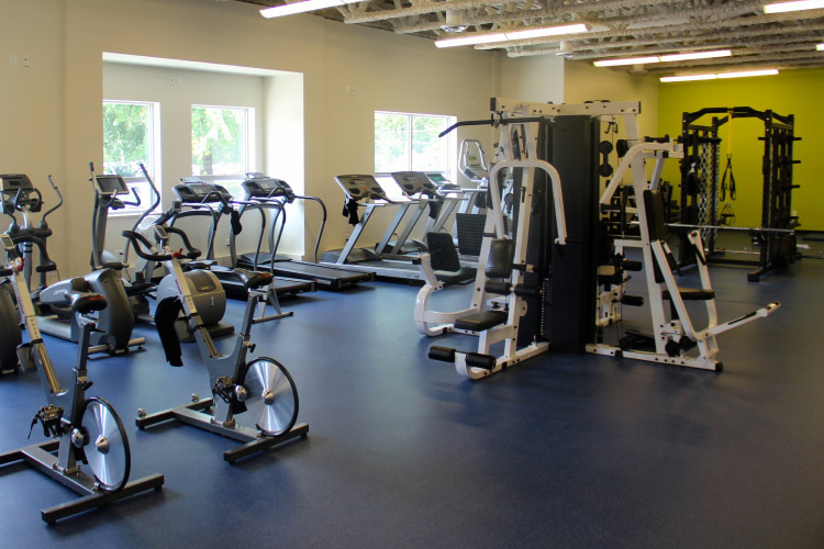 Fitness Centre (photo courtesy of TWU)