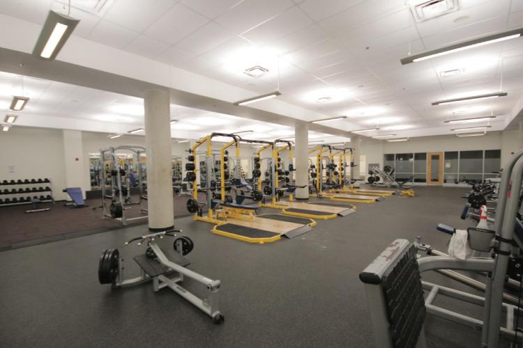 Fitness Centre (photo courtesy of Queen's University Athletics & Recreation)