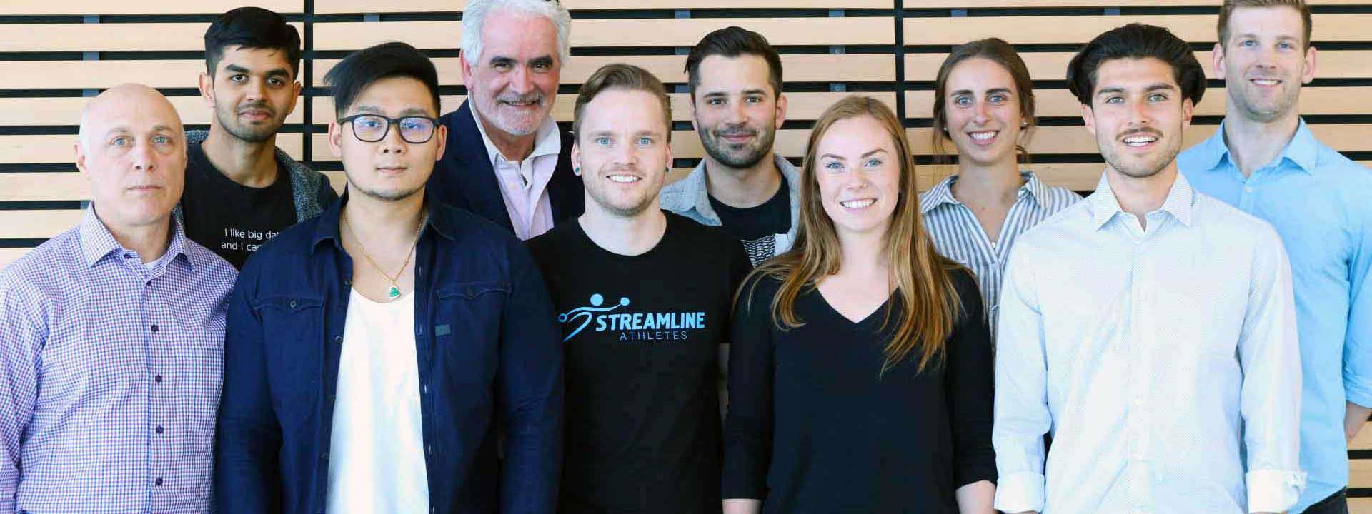 streamline athletes staff