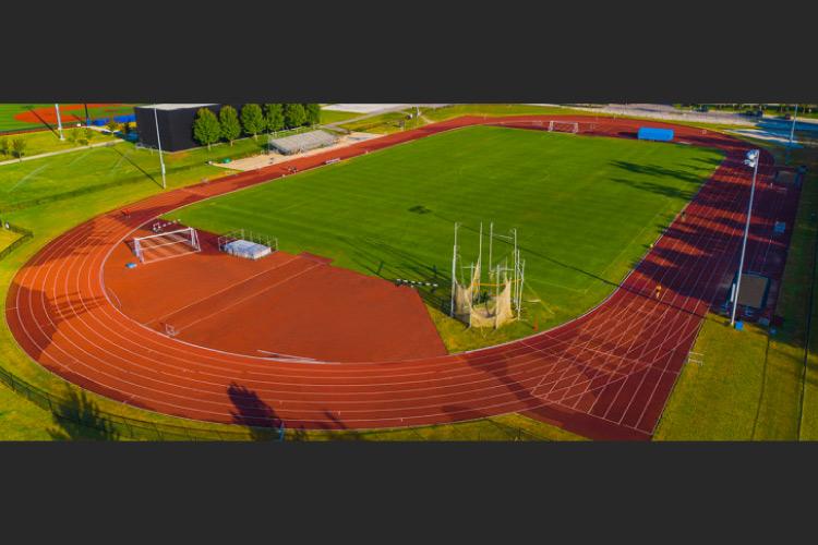 Rashpal Dhillon Track and Field Oval at Thunderbird Park (photo courtesy of UBC Athletics)