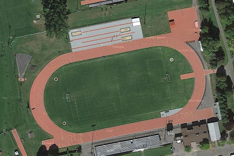 Terry Fox Athletic Facility (photo courtesy of Daily Track Pic)