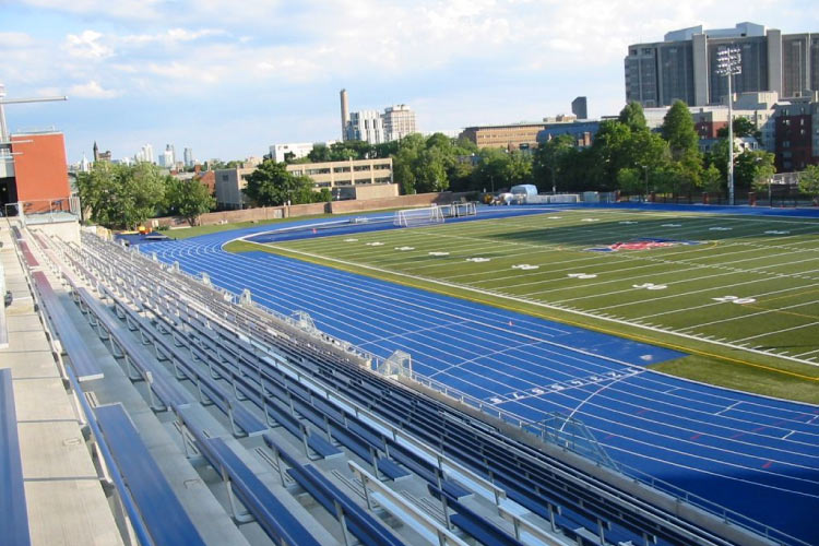 University of Toronto Varsity Blues outdoor track (photo courtesy of Centaur Products)