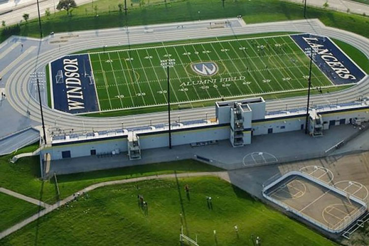 Alumni Field (photo courtesy of the University of Windsor)