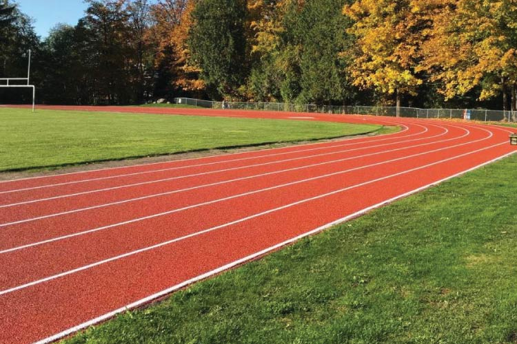 Walnut Grove Secondary School outdoor track